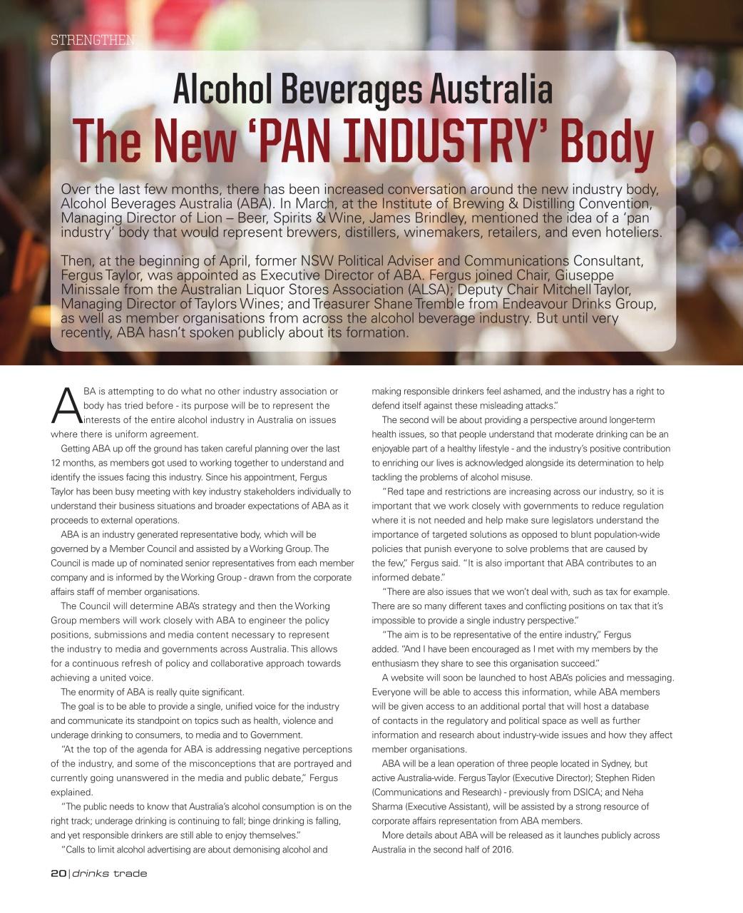 the australian beer industry essay Essay on beer industry oligopoly in 1996, australian the beer industry essay - the beer industry industry & competitive analysis chief economic traits.