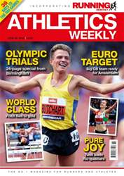 Athletics Weekly Magazine Cover