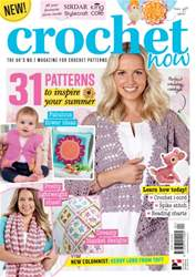 Crochet Now Magazine Magazine Cover