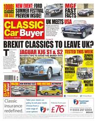 No. 338 Brexit Classics To Leave UK? issue No. 338 Brexit Classics To Leave UK?