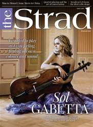 The Strad Magazine Cover