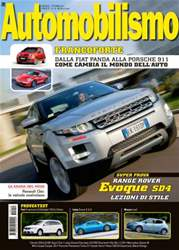 Automobilismo 10-2011 issue Automobilismo 10-2011