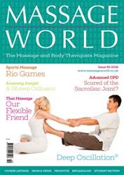 Massage World Issue 93 issue Massage World Issue 93