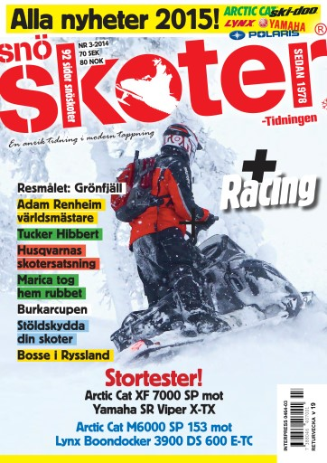 Tidningen Snöskoter Digital Issue