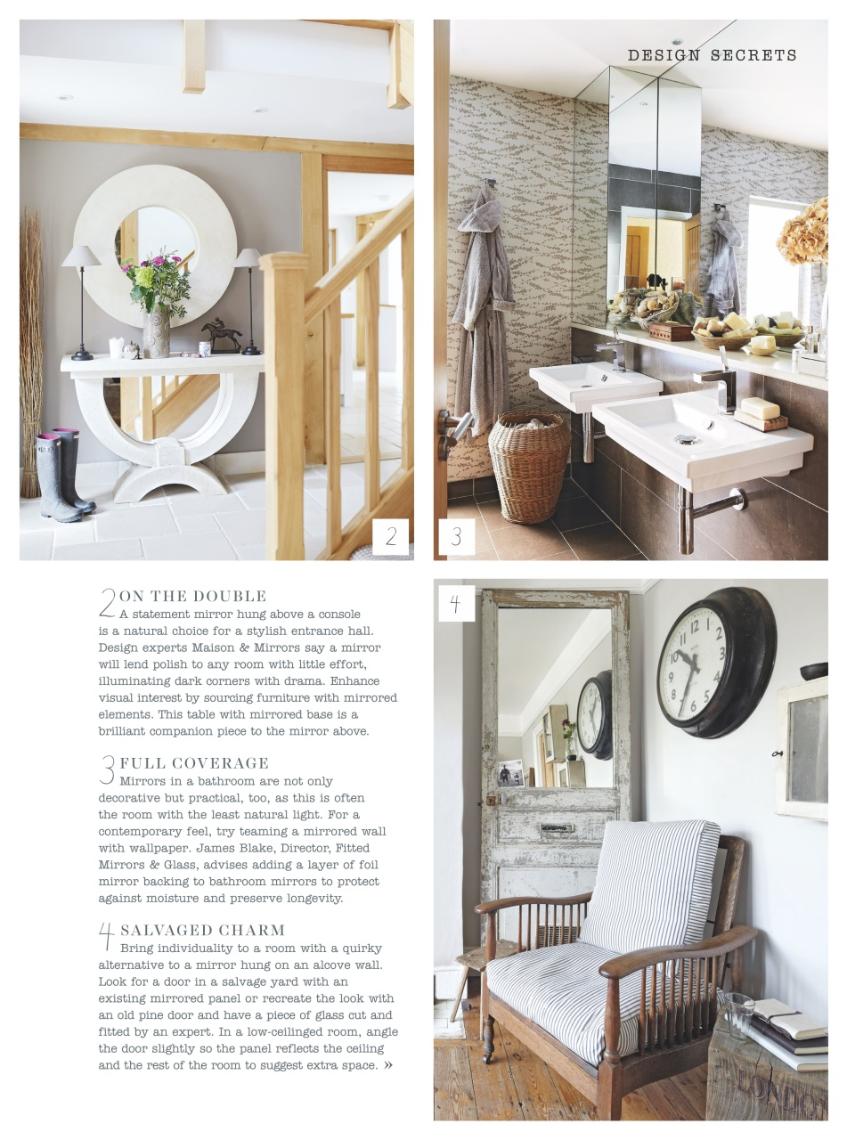 Country Homes Interiors Magazine August 2016