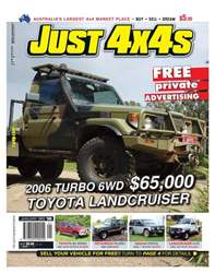 Just 4x4 Jan 12 issue 263 issue Just 4x4 Jan 12 issue 263