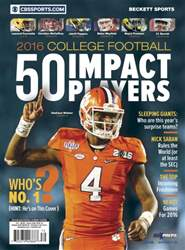 Collage Impact Player's 2016 issue Collage Impact Player's 2016