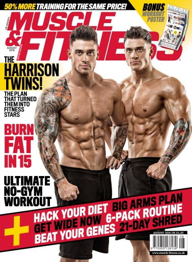 8473f4c2a10 Title Cover Preview Muscle   Fitness Magazine Preview