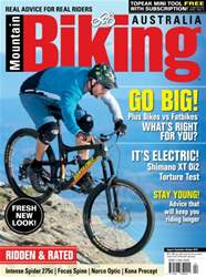 Mountain Biking Australia Magazine Cover