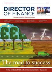 Director of Finance Magazine Cover