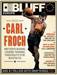 Bluff Europe July 2016 issue Bluff Europe July 2016