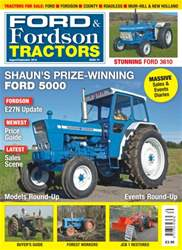 No. 74 - Shaun's Prize Winning Ford 5000 issue No. 74 - Shaun's Prize Winning Ford 5000