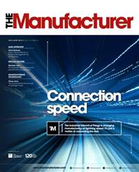 The Manufacturer Magazine Cover