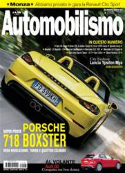 Automobilismo 8 2016 issue Automobilismo 8 2016