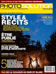 Photo Solution août/septembre 2016 issue Photo Solution août/septembre 2016