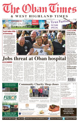 The Oban Times & Lochaber Times Preview