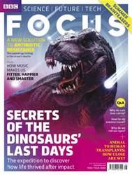 BBC Focus Magazine Magazine Cover