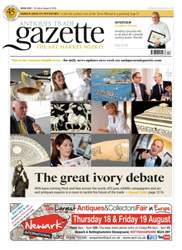 Antiques Trade Gazette Magazine Cover