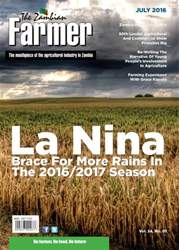 Zambian Farmer Magazine Cover