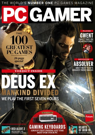 PC Gamer (UK Edition) Magazine - September 2016 ...