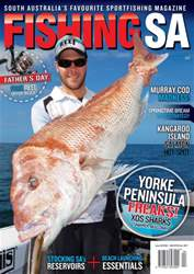 Fishing SA Aug/Sept 2016 issue Fishing SA Aug/Sept 2016