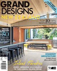 Grand Designs NZ Magazine Cover