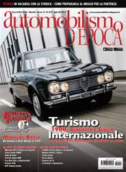 Automobilismo d'Epoca 8-9 2016 issue Automobilismo d'Epoca 8-9 2016