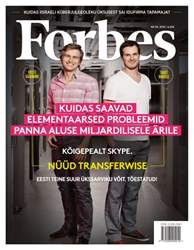 Forbes Estonia issue Forbes Estonia #39