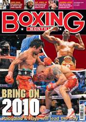 Boxing Monthly December 2009 issue Boxing Monthly December 2009