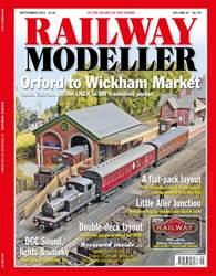 Railway Modeller September 2016 issue Railway Modeller September 2016