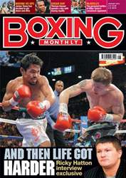 Boxing Monthly August 2010 issue Boxing Monthly August 2010