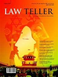 Lawteller – A Legal Awareness Magazine Magazine Cover