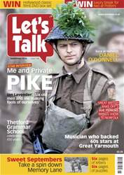 Let's Talk Magazine Cover