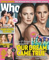 WHO Magazine Cover