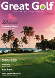 Great Golf Magazine Magazine Cover