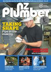 NZ Plumber August-September 2016 issue NZ Plumber August-September 2016