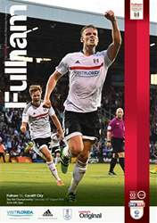 Fulham V Cardiff City 16-17 issue Fulham V Cardiff City 16-17