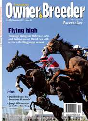 Thoroughbred Owner Breeder Magazine Cover