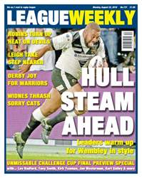 League Weekly Magazine Cover