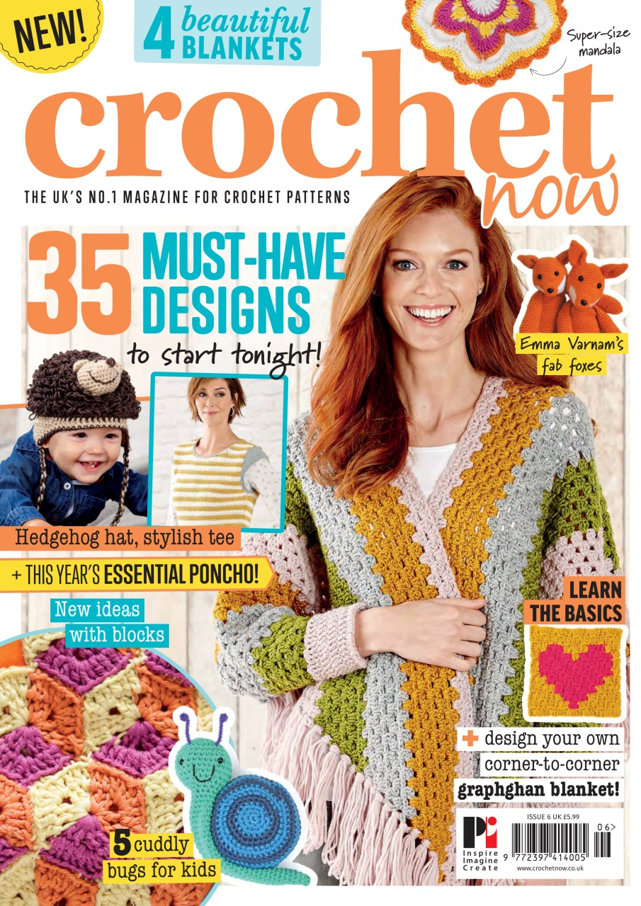 Crochet Now Magazine Issue 6 Subscriptions Pocketmags