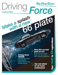 Driving Force Autumn 2016 issue Driving Force Autumn 2016