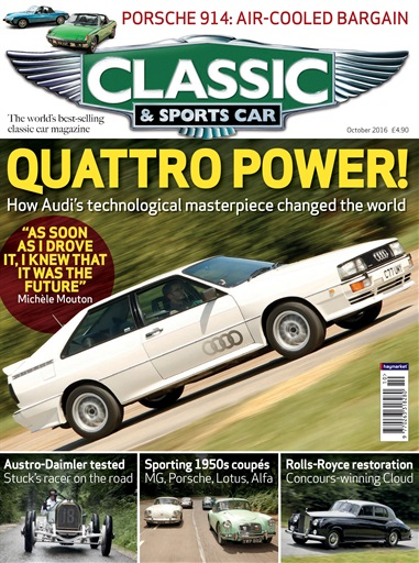 Classic Sports Car Magazine October Subscriptions Pocketmags - Classic and sportscar magazine