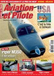 Aviation et Pilote Magazine Cover