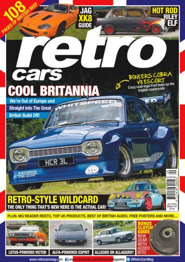 Retro Cars Magazine No 101 Cool Britannia Subscriptions Pocketmags