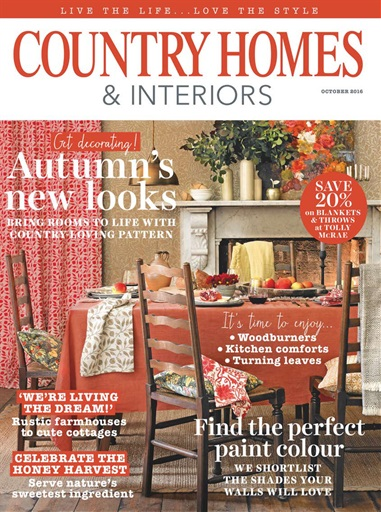 Country Homes Interiors Magazine October 2016