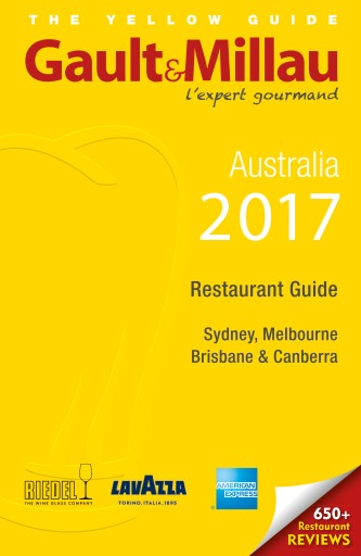 Gault & Millau Australia Digital Issue