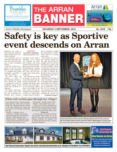 Arran Banner Digital Issue