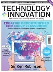Technology and Innovation Magazine Cover