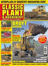 Classic Plant & Machinery Magazine Cover