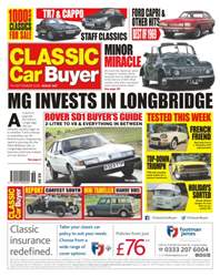 No. 347 MG Invests In Longbridge  issue No. 347 MG Invests In Longbridge
